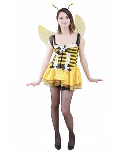 Костюм пчелы: крылья, платье, усики-рожки (Италия)