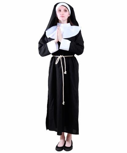 Костюм монашки: платье, головной убор (Германия)
