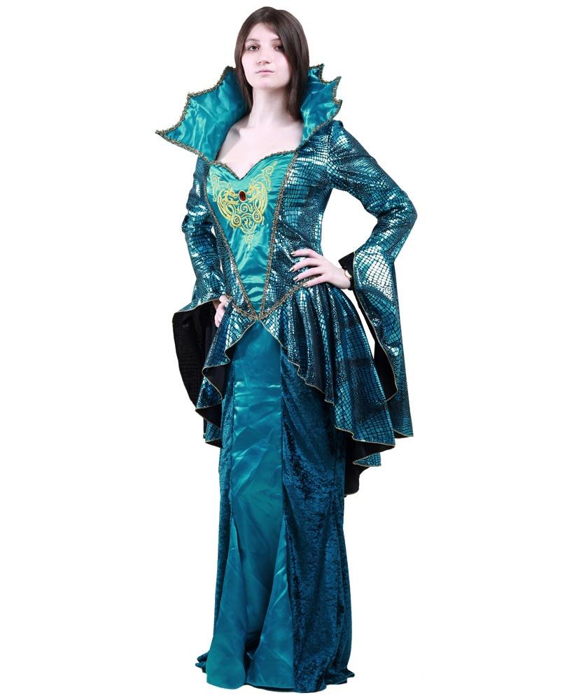 Костюм морской королевы: платье (Германия) - photo#25
