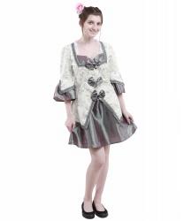 Платье дамы в стиле барокко