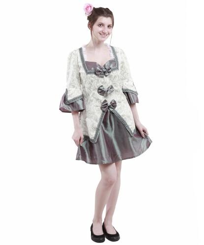Платье дамы в стиле барокко: платье (Германия)
