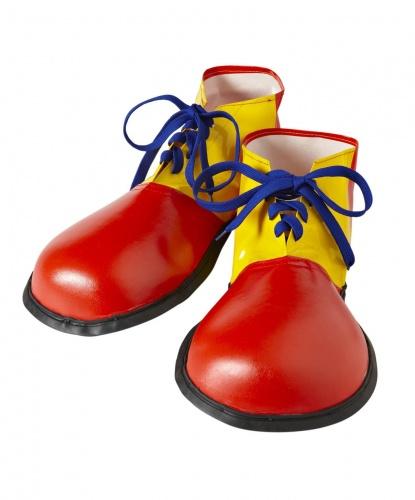 Клоунские ботинки, цвет красный, желтый (Италия)