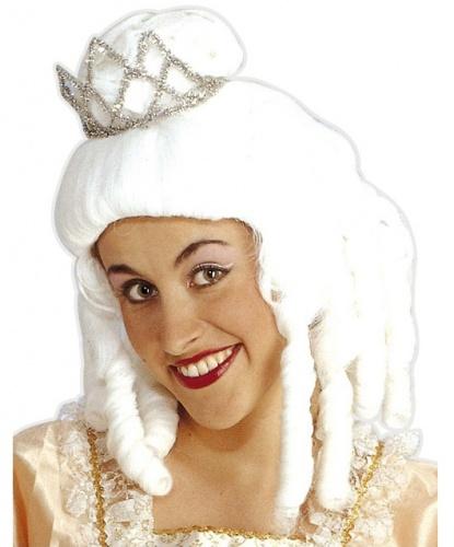 Парик принцессы: белый (Италия)
