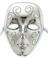 Серебряная маска горожанин