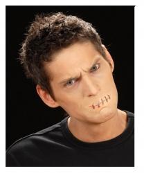 Рана Зашитый рот - Шрамы, раны, арт: 6416