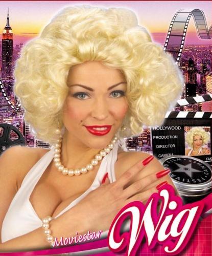 Парик Голливудская дива: золотистый блонд (Италия)