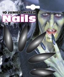 Накладные ногти ведьмы