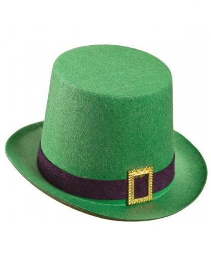 Шляпа лепрекона зеленая(Италия)
