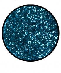 Блестки голубые