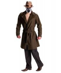 Костюм Роршаха: пальто с поясом, шарф, шляпа, маска (Германия)