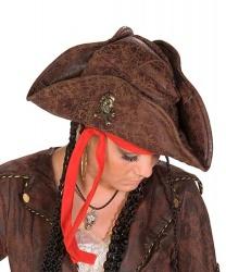 Пиратская шляпа (треуголка)