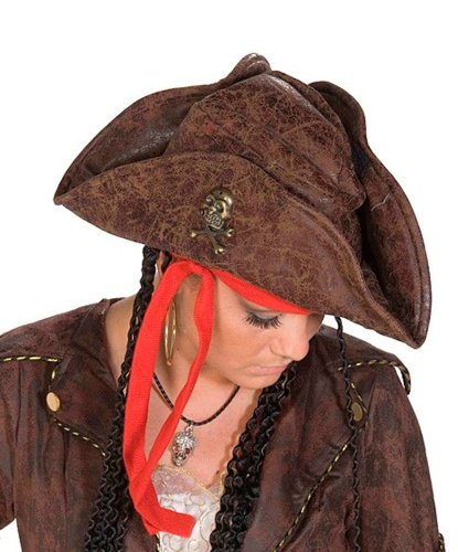Пиратская шляпа (треуголка) (Германия)