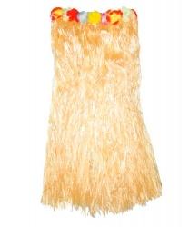 Желтая гавайская юбка (80см)