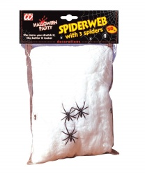 Искусственная белая паутина (8 м2)