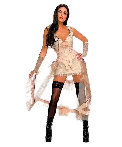 Костюм Lilah White: нарукавники, платье (Германия)