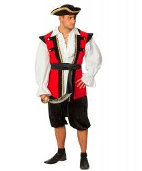 Пиратский жилет: жилетка, пояс, бриджи (Германия)