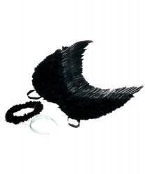 Набор ангела черный