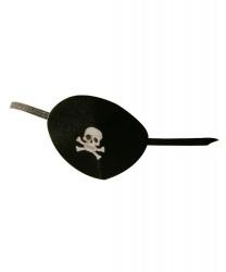 Пиратский наглазник c черепом