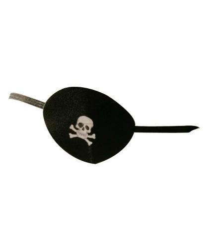 Пиратский наглазник c черепом (Германия)