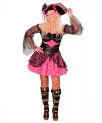 Розовое платье пиратки