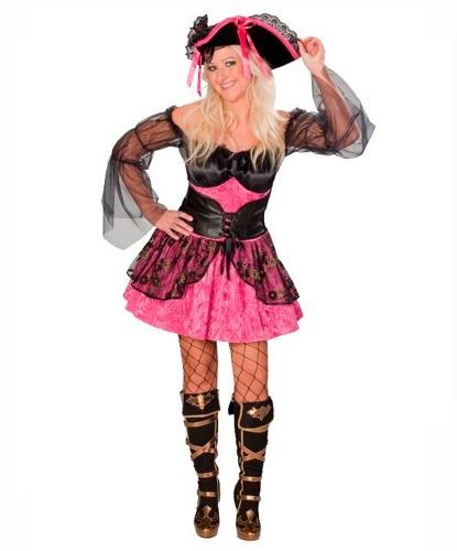 Розовое платье пиратки: платье (Германия)