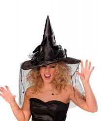 Колпак ведьмы черный