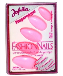 Розовые накладные ногти