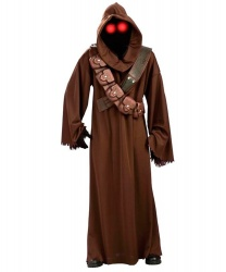 Костюм Джава из Звездных войн (Jawa Star Wars): балахон, капюшон с маской, пояс (Германия)