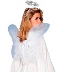 Крылья и нимб ангела