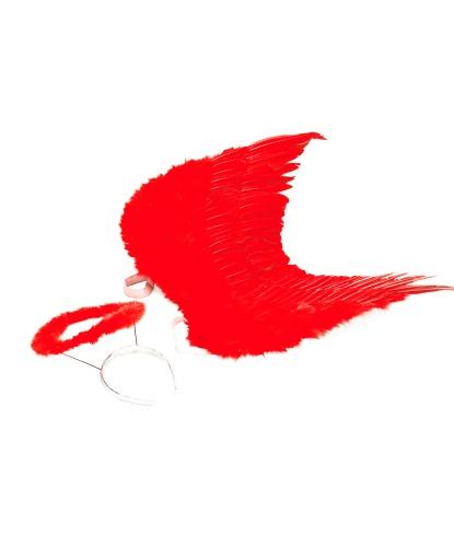 Набор ангела красный: 50 х 35 см (Германия)