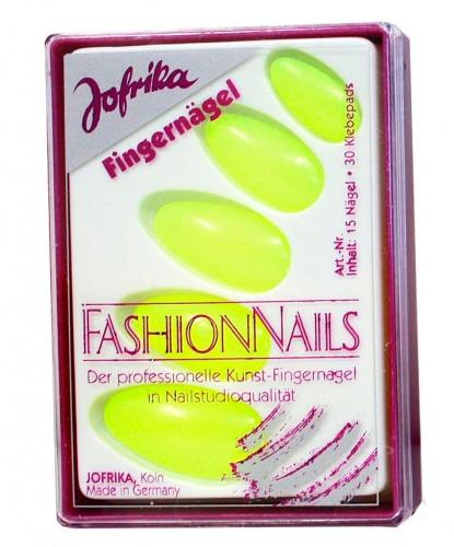 Желтые накладные ногти: 15 ногтей (Германия)