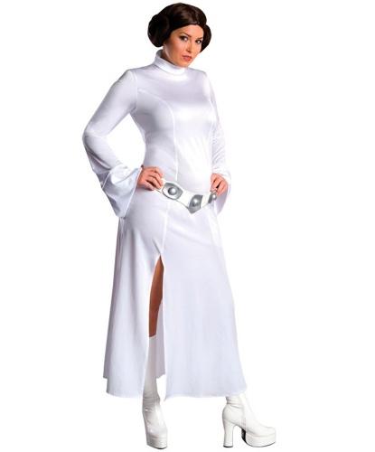 Костюм Леи(Star Wars): парик, платье, пояс (Германия)
