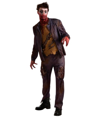 Костюм зомби Шона: рубашка, штаны, жакет (Германия)