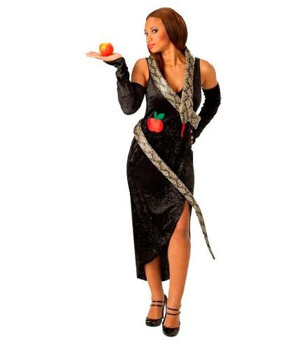 Костюм змеи: платье, перчатки (Германия)