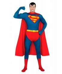 Костюм Супермена (2nd Skin) (Zentai)
