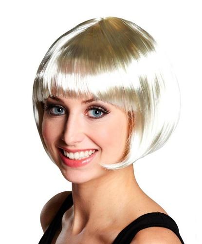 Парик-каре блондинки: белый (Германия)