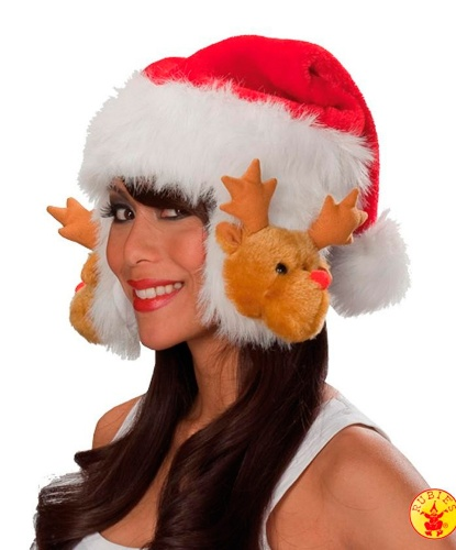 Колпак Санта Клауса с оленьими ушами (Германия)