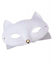Маска кошки (белая)
