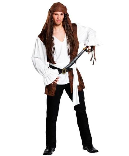 Рубаха пирата: пояс, рубашка с вшитой жилеткой (Германия)
