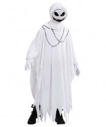 Костюм злого привидения на Хэллоуин: балахон, маска (Италия)