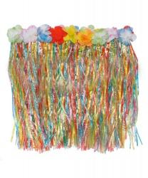 Цветная гавайская юбка (50см)