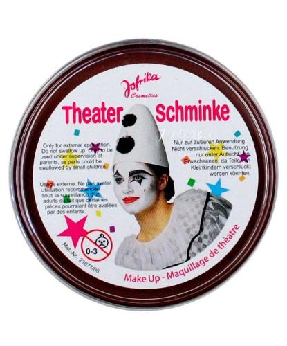 Масляный театральный грим коричневый, шайба 25 гр (Германия)