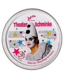 Масляный театральный грим серебряный, шайба 25 гр (Германия)