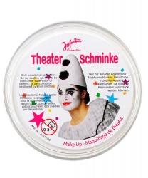 Масляный театральный грим белый, шайба 25 гр (Германия)