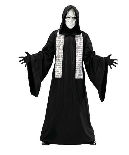 Костюм фантома: балахон, шарф, маска (Германия)