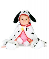 Костюм далматинца на малыша