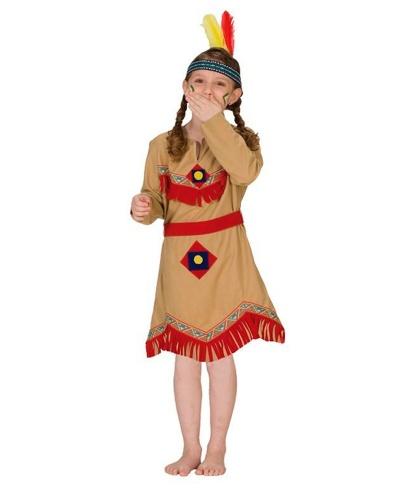Платье маленькой индианки: платье, пояс (Германия)