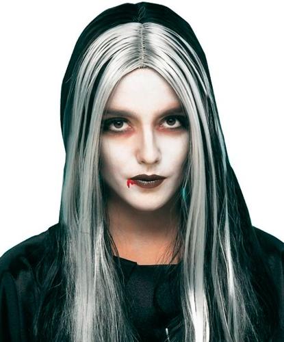 Парик ведьмы: белый, черный (Германия)