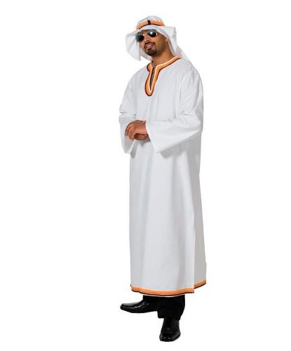 Взрослый костюм шейха: халат, головной убор (Германия)