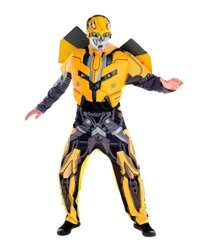 Костюм трансформера Bumble Bee: комбинезон, маска (Германия)